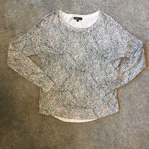 SALE! 3/15$ Dalia Abstract Print Sweater